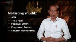 Jokowi Jelaskan Alasan Melarang Mudik Lebaran