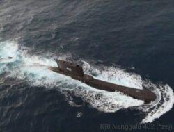 KRI Nanggala 402 Ditemukan Terdeteksi Pada Kedalaman 850 Meter Di Perairan Bali