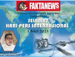 Mengucapkan Hari Pers Internasional