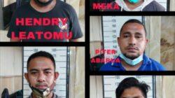 Ini Wajah Seram Gerombolan Debt Collector Yang Ditangkap TNI/Polri, Leasing Diharap Tak Gunakan Jasa DC