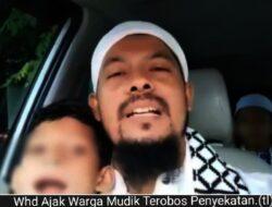 Melihat Motif Pria Aceh Ajak Orang Mudik Lebaran Terobos Penyekatan