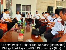 Aktivis Heran, Kades Pasien Rehabilitasi Narkoba Nampak Lebaran Di Rumah