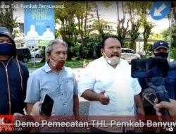 Demo Pemecatan THL Pemkab Banyuwangi