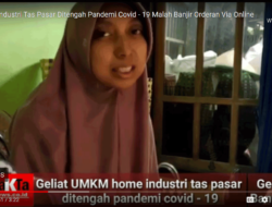 Home Industri Tas Pasar Ditengah Pandemi Covid – 19 Malah Banjir Orderan Via Online