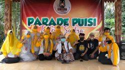 Seniman Lan Budayawan Rame-Rame Nyaksekno Parade Puisi Lentera Sastra Reng Jopuro