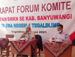 "Forum Komite SMAN/SMKN Banyuwangi Agendakan Simposium ""Bertekad Rapatkan Barisan"""