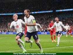 Inggris Tantang Italia Di Final EURO 2020