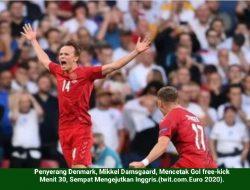 Inggris Dominasi Laga Semifinal EURO 2020 di Wembley