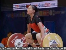 Olimpiade 2020, Windy Raih Medali Pertama Indonesia