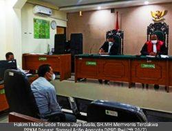 Hakim Denda 500 Ribu Anggota DPRD Gelar Pernikahan Di Masa PPKM Darurat