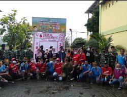 Kolaborasi Donor Darah Yonkav 6/NK, Ikawangi, Arek Suroboyo,ISG&YNIS, Forsil ASKB Medan Hasilkan 114 Kantong