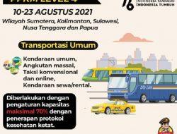 Diluar Jawa-Bali Perpanjangan PPKM Hingga 23 Agustus