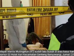 Penyebab Meninggalnya Wanita di Hotel Asri Terkuak