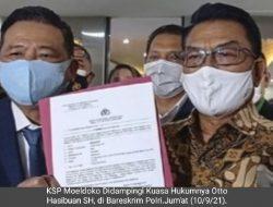 Somasi KSP Moeldoko Berlanjut Laporkan Peneliti ICW