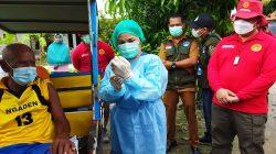 Tukang Becak Vaksin Dikawal Jenderal