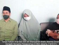 Buntut Nikah Siri Ayah Taqy Malik, Marlina Tanya Hukum Sex Anal Ke MUI