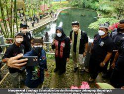 Sandiaga Uno Melihat Potensi Wisata Desa Tamansari Seperti Desa Ubud Bali
