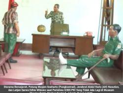 Tiga Patung Jenderal Diorama Peristiwa G30S PKI Diserahkan Kepada Yang Membuat