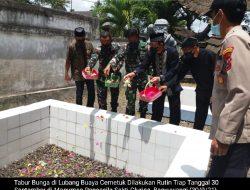 Tabur Bunga Rutin Di Lubang Buaya Cemetuk Mengingat Peristiwa PKI Membantai 62 Pemuda Ansor