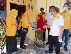 HUT Partai Golkar, Masyarakat Medan Denai Terima Kasih Kedatangan Tamu Berbagi Rezeki