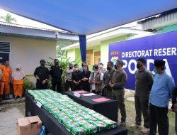 Dirumah Kontrakan Ditemukan 81 Kg Sabu Milik WNI Aceh Berada di Malaysia