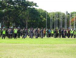 Danlanal Banyuwangi Dan Prajurit Apel Gelar Pasukan PAM VVIP
