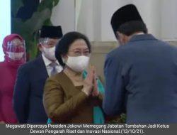 Setelah BPIP, Megawati Dipercaya Jokowi Jadi Ketua Dewan Pengarah BRIN