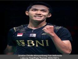 Final Piala Thomas : Indonesia Tantang China