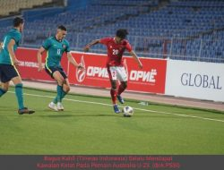 Timnas Indonesia Kalah Tipis 2-3 Dari Australia U-23